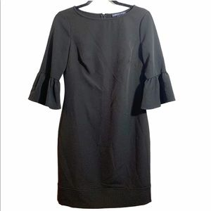 American Living Black Flare Sleeve Dress